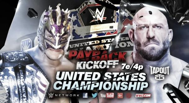 The US title is on the line in the pre-show once again. Photo- WWE.com
