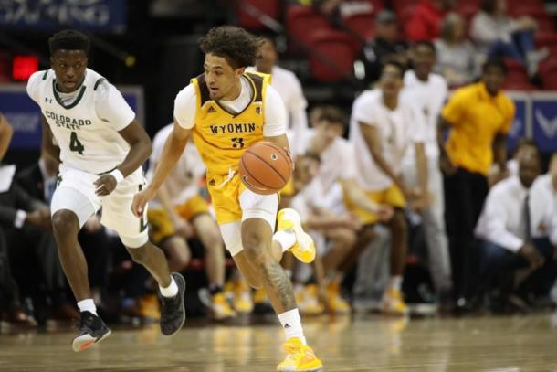 Marble II paced a balanced Wyoming offensive attack/Photo: Morgan Engel/NCAA Photos