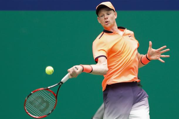Edmund at the Shanghai Rolex Masters (Photo by Lintao Zhang/Getty Images)