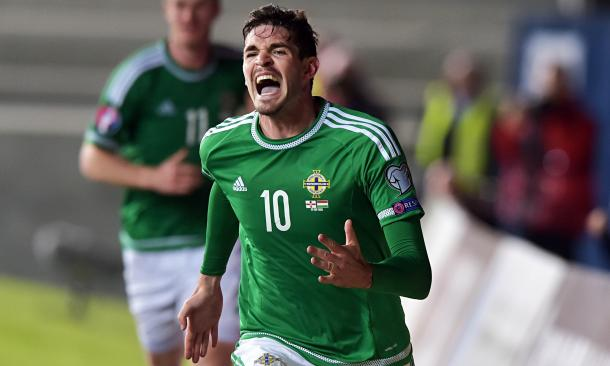 Lafferty's goals will be key for Northern Ireland this summer. (Photo: Charles Mcquillan/Getty Images)