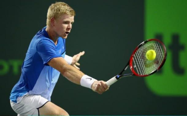Edmund only capitalized on two out of his nine break point chances in this match. Photo: Getty