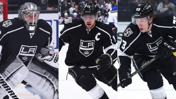 This trio of key L.A. Kings' players are showing they can provide the punch needed to win. (Photo: nhl.com)