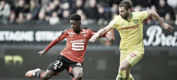 Rennes will be pleased to get one over on their rivals. | Image source: Ligue 1