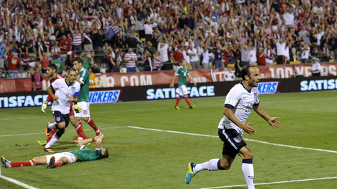 USMNT are 4-0 in Columbus vs. Mexico. Photo: SI.