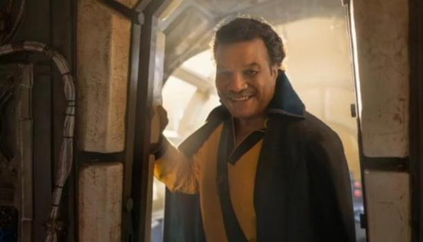Billy Dee Williams como Lando Calrissian en Star Wars Ep. IX   Youtube Star Wars