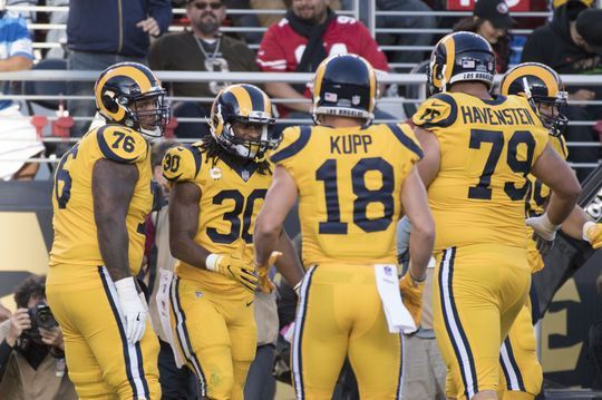 Los Angeles Rams get big win over San Francisco 49ers. | Photo: USA Today Sports