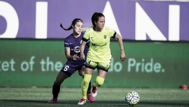 Seattle and Orlando met for the second time in their history. (Photo credit: NWSL)