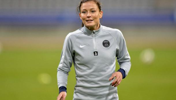 Laure Boulleau will be key to any success for PSG this weekend. (Image credit: football.fr)