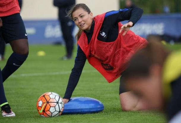 Laure Boulleau will play no part in Rio. | Image credit: FFF