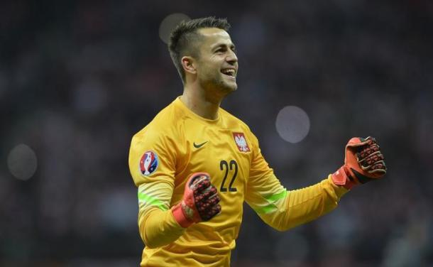 Fabianski has been in fine form for club and country. | Image source: Gazetta