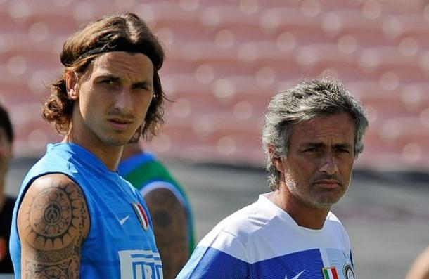 Mourinho and Zlatan have worked together before at Inter Milan | Photo: Getty