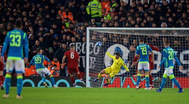 Alissou brilhou para garantir Reds no mata-mata (Foto: Divulgação/Liverpool FC)
