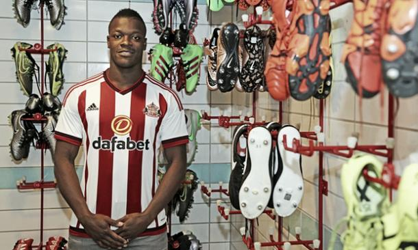 It wasn't long ago that Kone arrived at the Stadium of Light, will he be off again this summer? | Image credit: Sunderland AFC