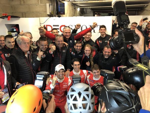 Idec Sport Racing, mejor clasificado en la categoría LPM2. Fuente: Twitter Idec Sport