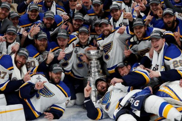 Blues campeones | the Globe and mail