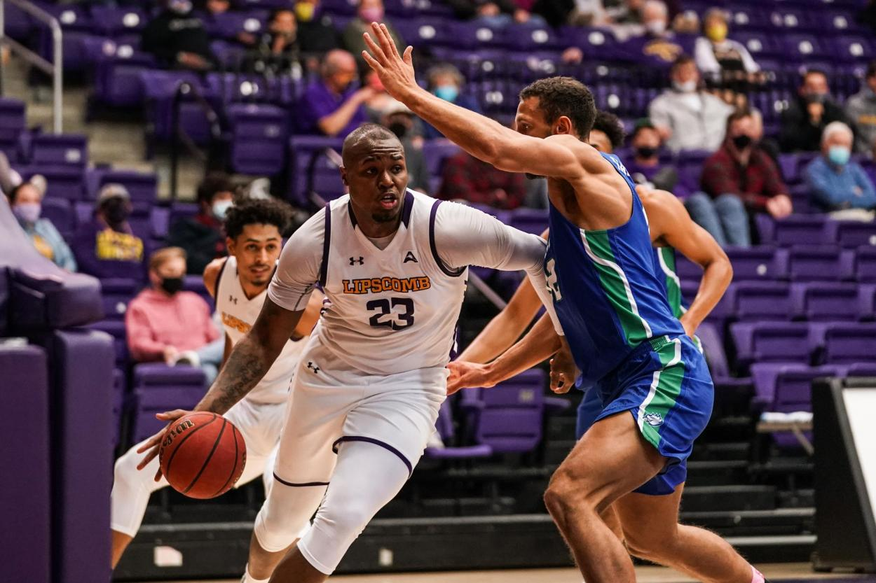 Asdullah is a dominant force for Lipscomb/Photo: Lipscomb athletics website