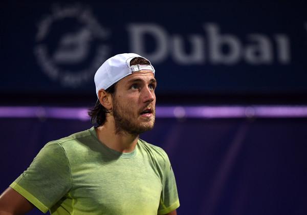 El francés Lucas Pouille en su paso por Dubai (zimbio.com)