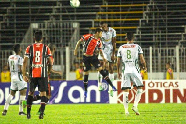 JEC empatou na estreia da Série B com o Luverdense, fora de casa (Foto: Divulgação/Luverdense)