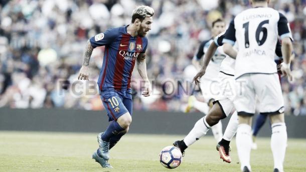 Tras la vuelta de Messi frente al Dépor, la MSN estará de nuevo junta frente al City | Foto: FCBarcelona