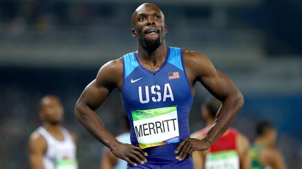 Can Merritt claim a medal in the 200m as well as the 400m? | Photo: Getty.