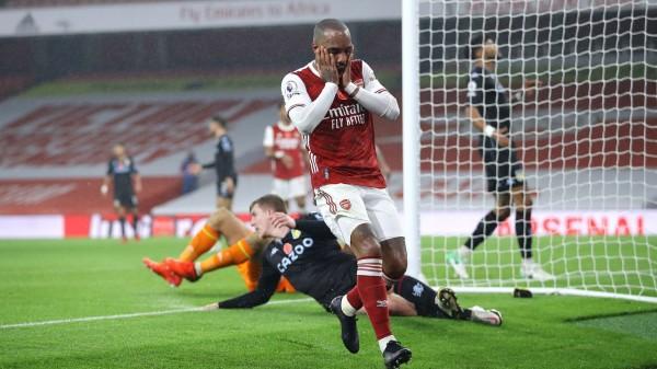 Lacazette tampoco pasa un buen momento en los Gunners / Foto: Premier League