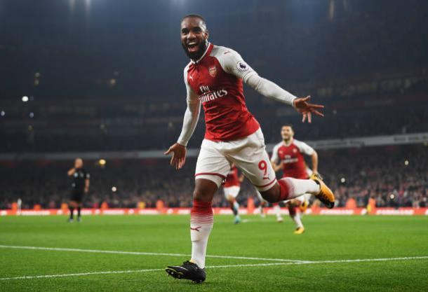 Lacazette vem em grande fase e é o principal jogador do atual Arsenal (Foto: Mike Hewitt/Getty Images)