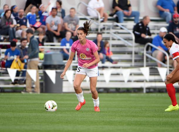 Mandy Laddish with FC Kansas City in 2015 | Source: FC Kansas City