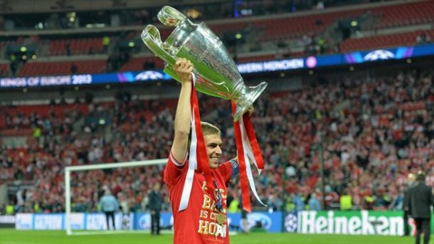 Will Lahm get his hands on the Champions League trophy again? | Image source: UEFA