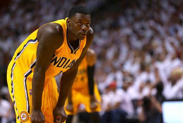Lance Stephenson jugó el mejor baloncesto de su carrera en Indiana | Foto: Zimbio