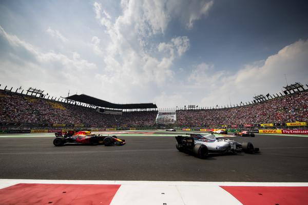 Stroll durante el GP de México. Fuente: Getty Images