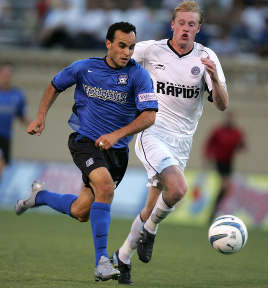 Landon Donovan was a major player in San Jose Earthquakes and USA's history. | Photo: AP Photo/John Todd, File