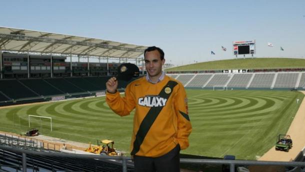 Presentación de Donovan en LA Glaxy (mlssoccer.com)