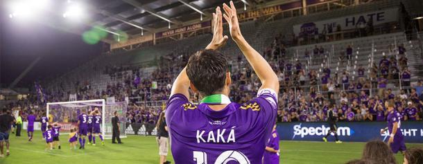 Kaka el día de su despedida. // Imagen: Orlando City