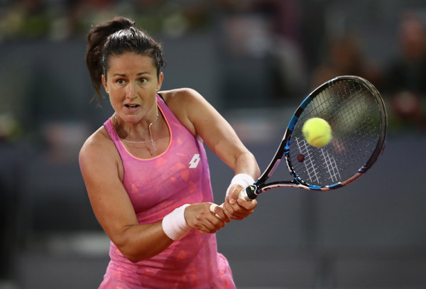 Lara Arruabarrena excelled in Madrid | Photo: Julian Finney/Getty Images Europe