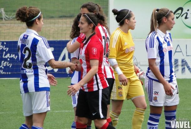 María Díaz en un encuentro frente al Athletic Club. Foto: Giovanni Batista (VAVEL)