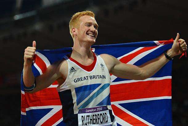 Greg Rutherford after winning the Olympic title in 2012 (Getty/Lars Baron)