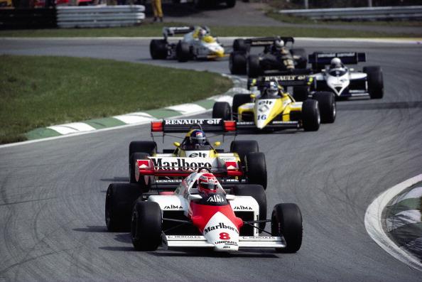 Em 1984, Niki Lauda liderou o pelotão com sua McLaren e foi o único austríaco a vencer em casa (Foto: Rainer W. Schlegelmilch/Getty Images)