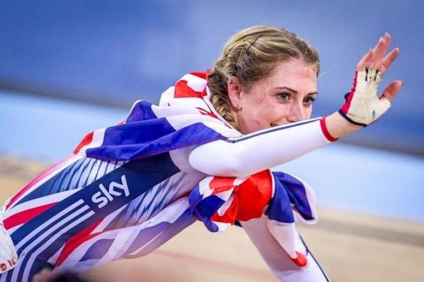 Can Laura Trott become the first British woman to win three Olympic gold medals? | Photo: Simon Wilkinson/SWpix.com