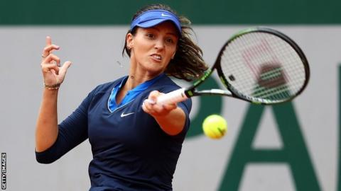 Laura Robson (Source:Getty Images)