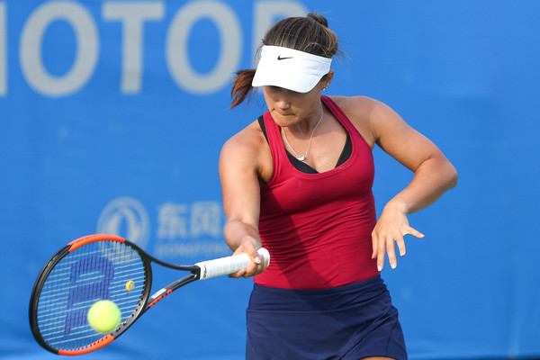 Lauren Davis was performing very poorly today | Photo: Yifan Ding/Getty Images AsiaPac