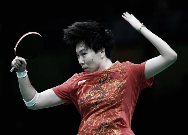 China has been dominant in table tennis in both the men's and women's side. Photo Credit: Laurence Griffiths of Getty South America