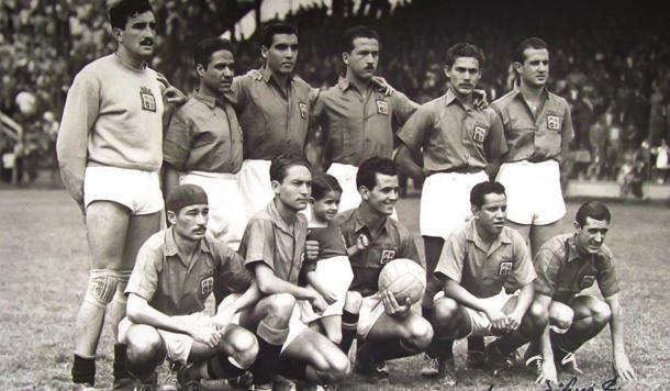 Club León en la temporada 1944-1945 / Foto: fieramanía