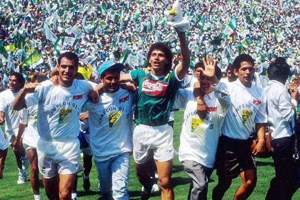 Campeonato del León ante Puebla en la 91-92 / Foto: Twitter