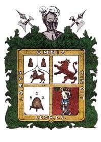 Primer escudo del León, escudo de armas de la ciudad / Foto: zoomleon