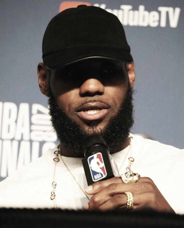 Reprodução/Cleveland Cavaliers