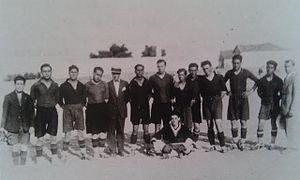 Primer equipo del Leganés, en 1928 | Foto: Wikipedia