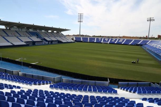 Estadio Municipal de Butarque. / Foto: deportivoleganes.com