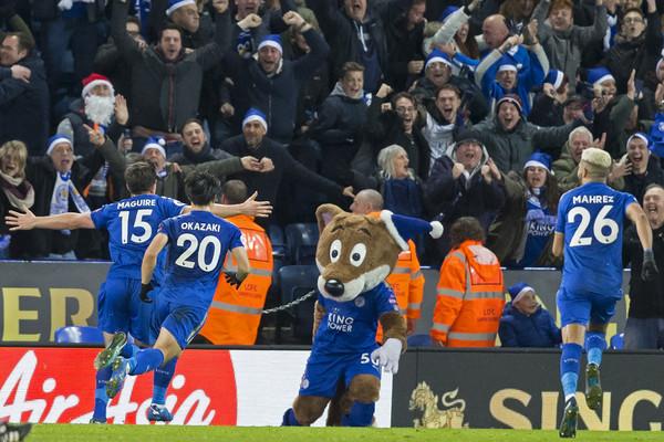 Maguire celebra el gol del empate. Foto: Getty Images
