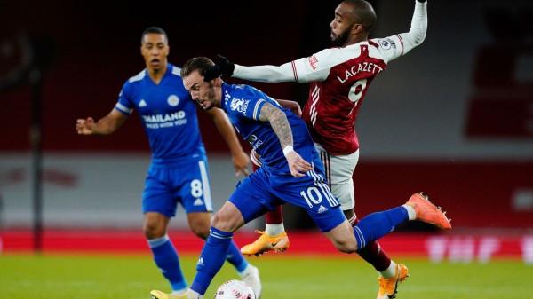Arsenal cayó en casa con Leicester y entró en una mala racha. / Foto: Premier League