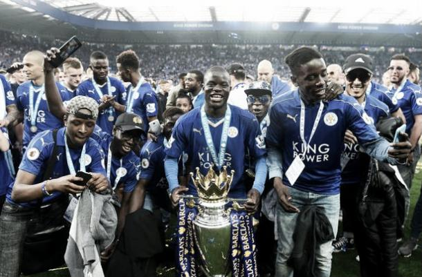 Kante joins the Blues with a Premier League medal and 8 caps for France to his name. Photo: Daily Mirror